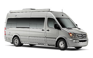 Interstate, Mercedes Van, Class B van, Airstream
